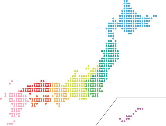 北海道から沖縄まで、全国対応でロゴを作成しています