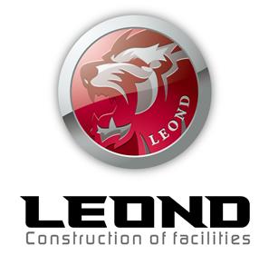 建築/建設/設備/設計/造園と立体的と銀のロゴ