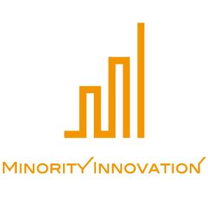 製造/メーカーとシンプルとオレンジのロゴ