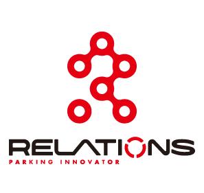 不動産業とシンプルと赤のロゴ