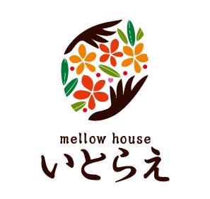 サービス業と親しみ/優しいとマルチカラーのロゴ