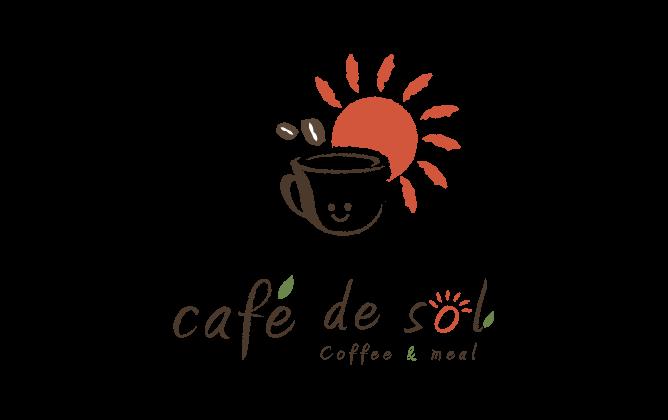 飲食業と親しみ/優しいと赤のロゴ