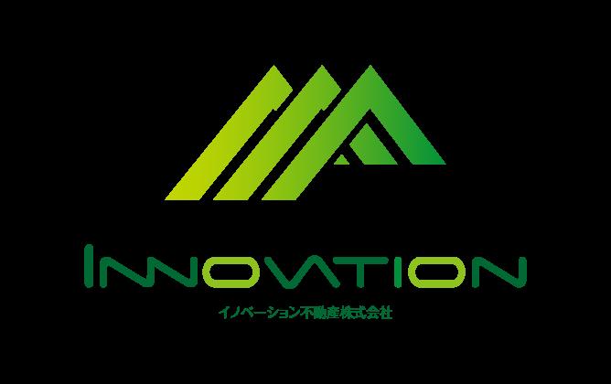 不動産業と堅め/堅実と緑のロゴ