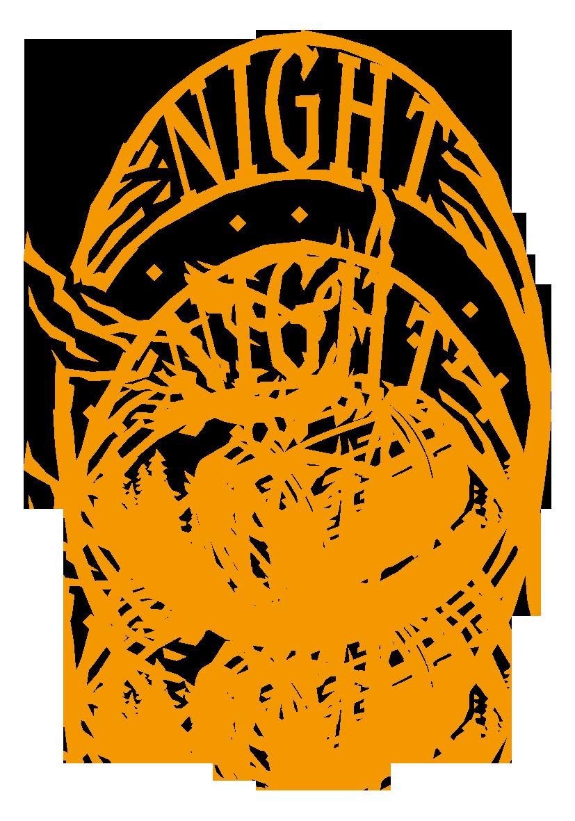 小売業と凝っている/複雑とオレンジのロゴ