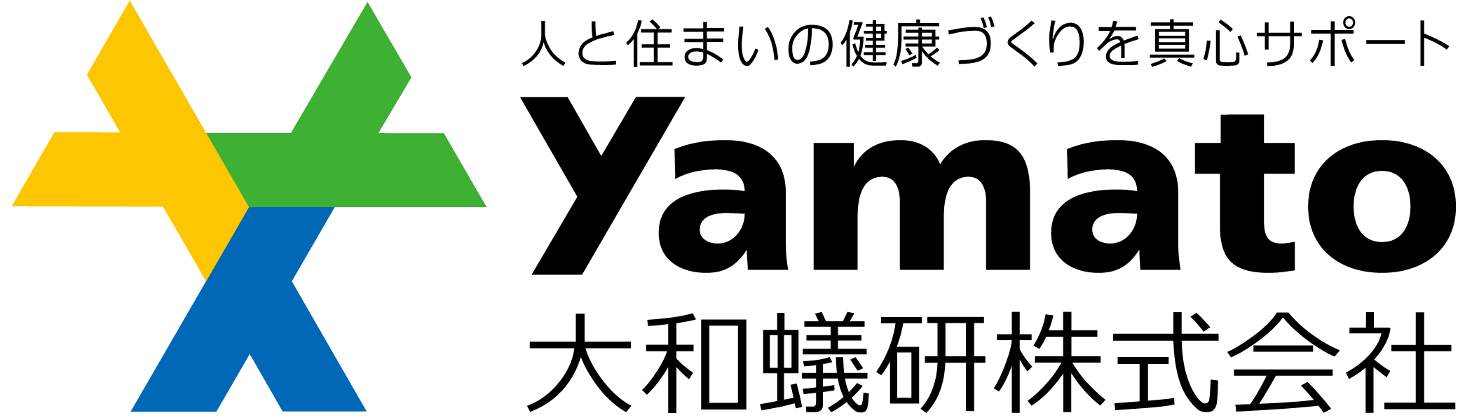 サービス業とシンプルとマルチカラーのロゴ