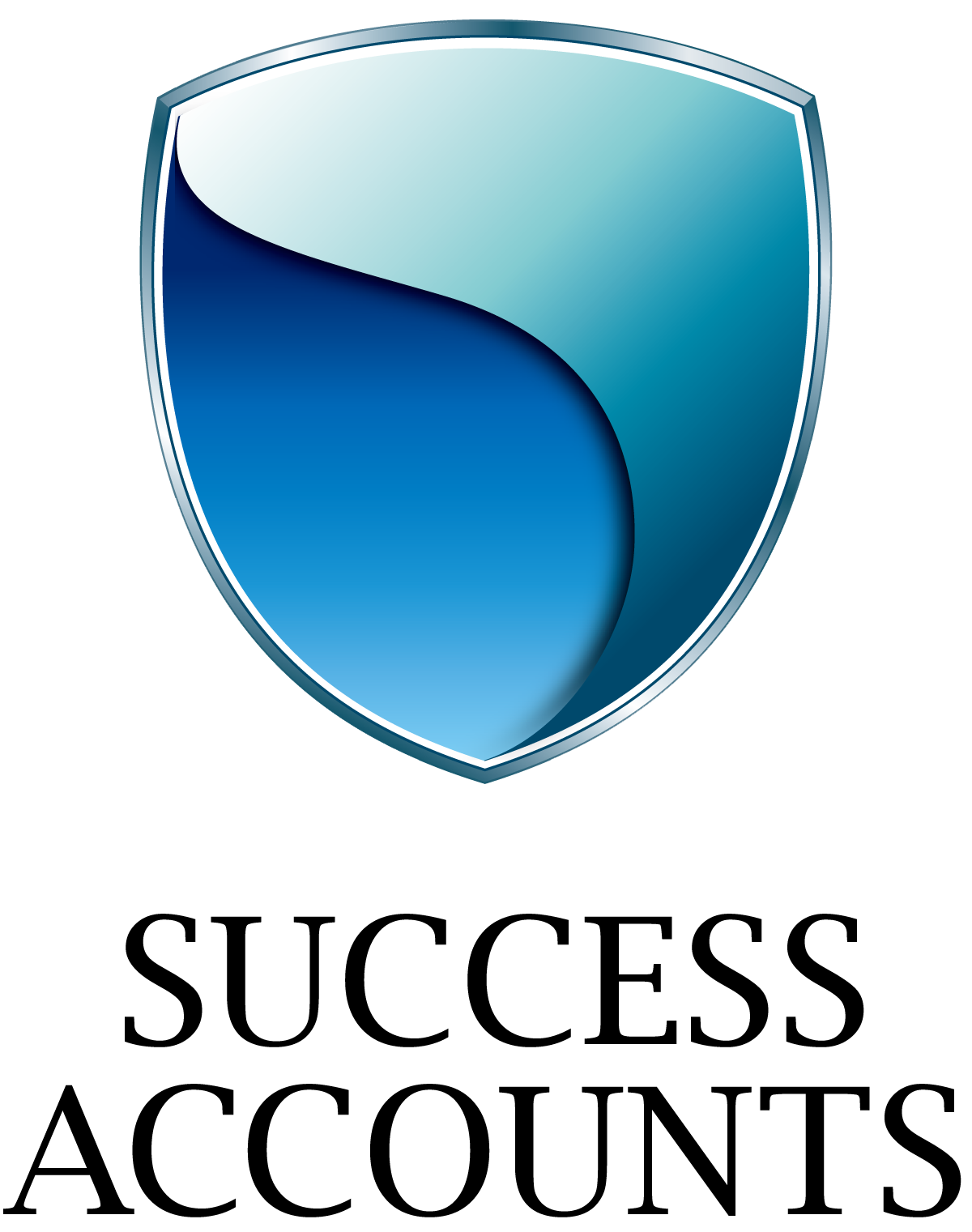 士業全般と高級感/気品と青のロゴ