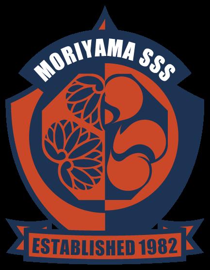 チーム/サークルと和風/筆タッチと赤のロゴ