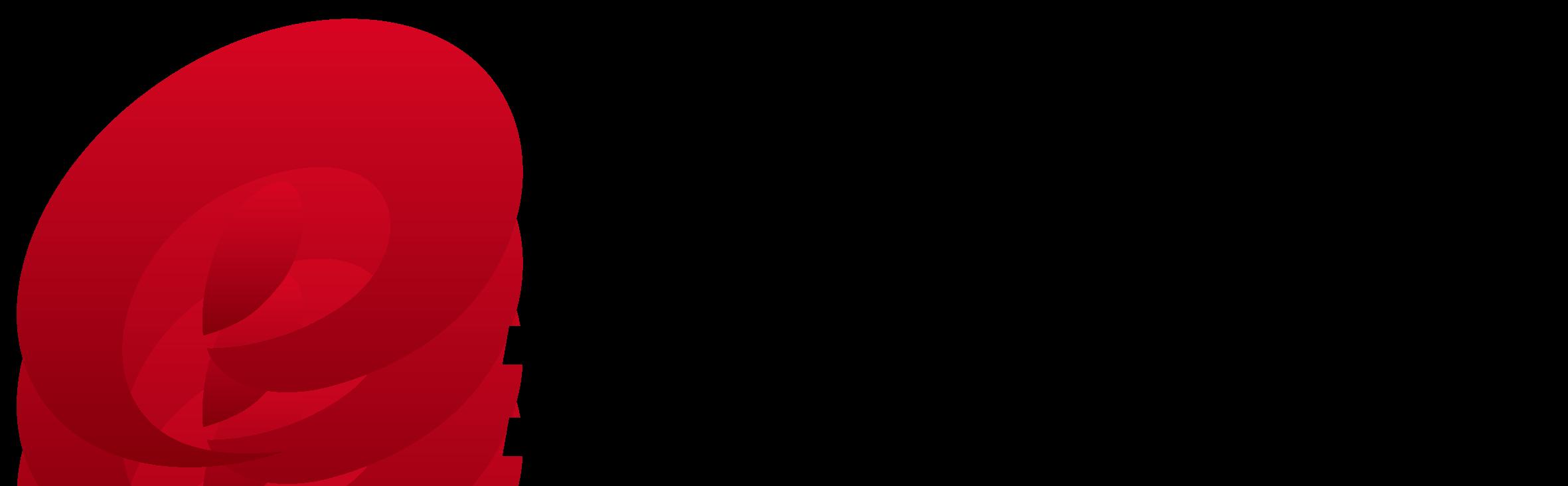 不動産業と堅め/堅実と赤のロゴ