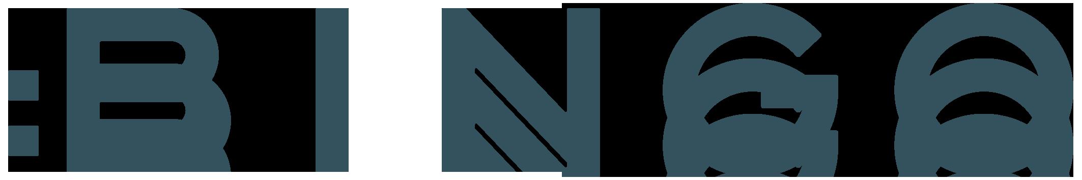 サービス業とロゴタイプ(文字のみのデザイン)と緑のロゴ