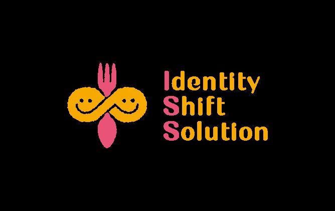 経営コンサルタントと親しみ/優しいとオレンジのロゴ