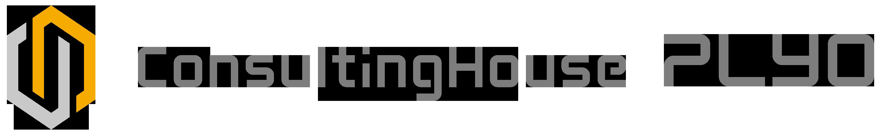 経営コンサルタントとシンプルとグレーのロゴ
