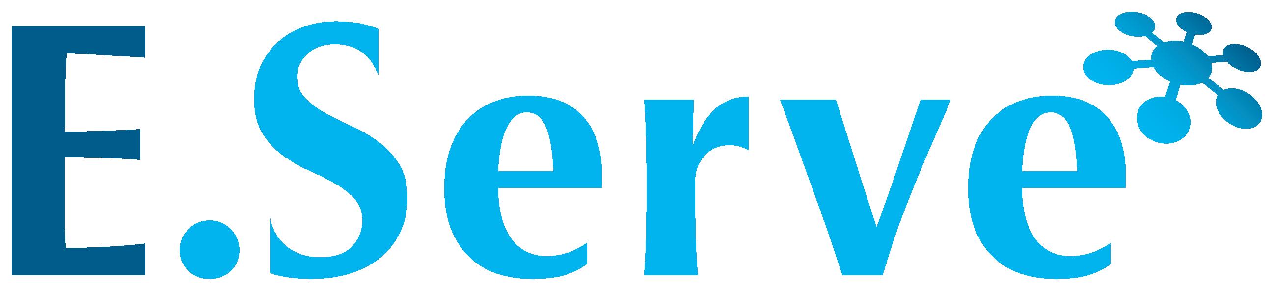人材系サービスとロゴタイプ(文字のみのデザイン)と青のロゴ