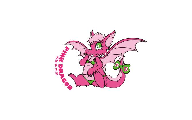 その他と親しみ/優しいとピンクのロゴ