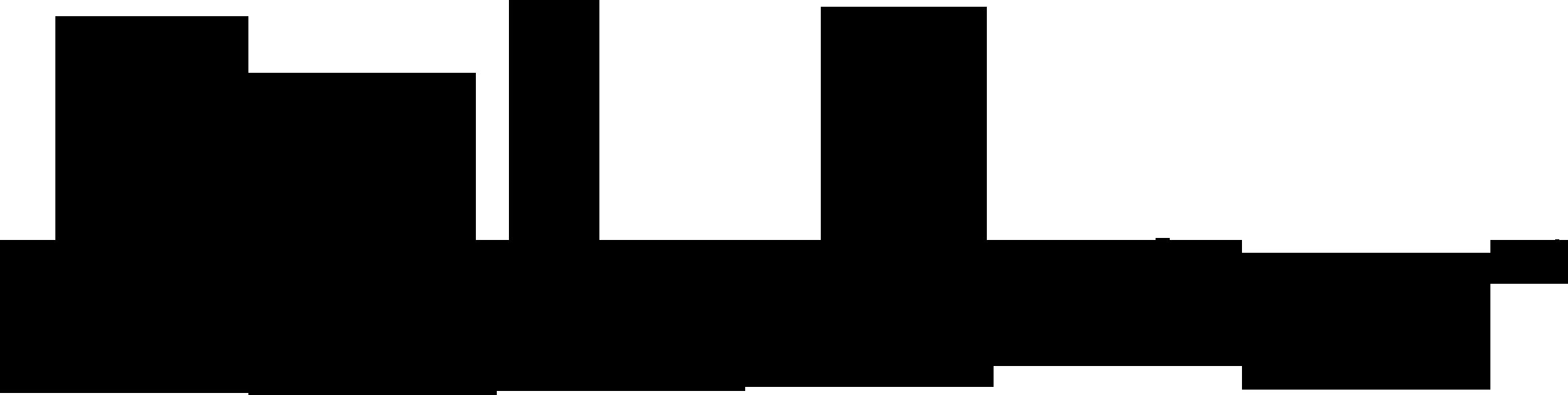 飲食業と和風/筆タッチと黒のロゴ