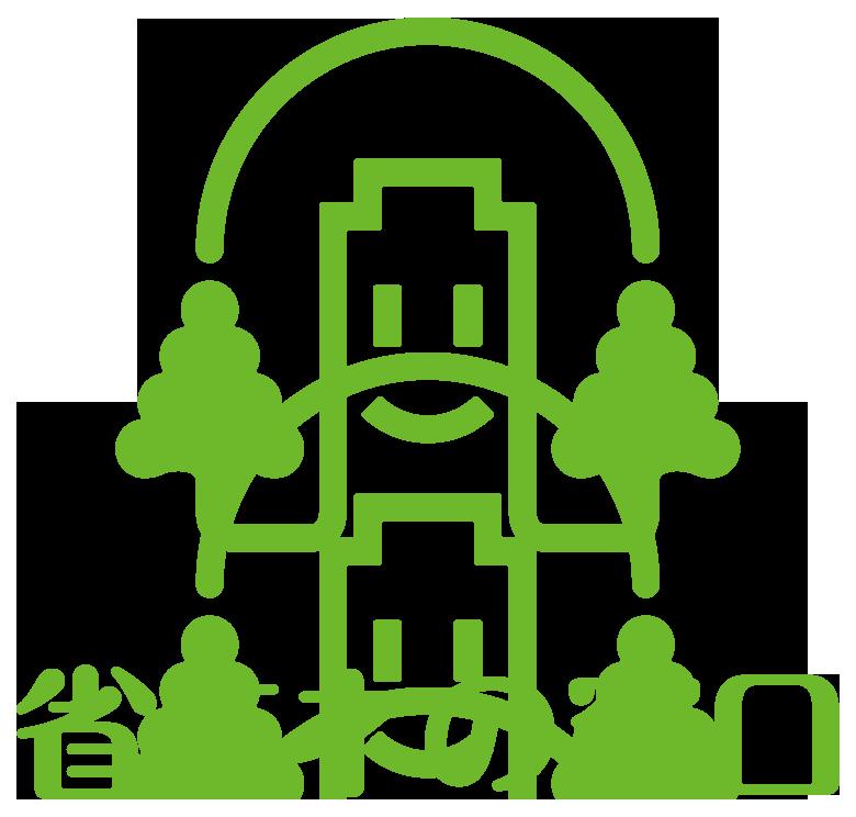 製造/メーカーと親しみ/優しいと緑のロゴ