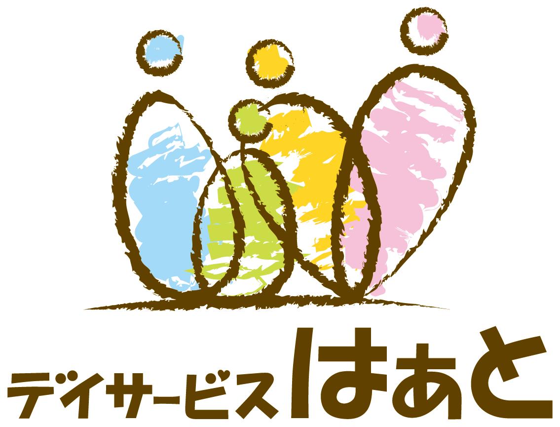 介護/福祉と親しみ/優しいとマルチカラーのロゴ