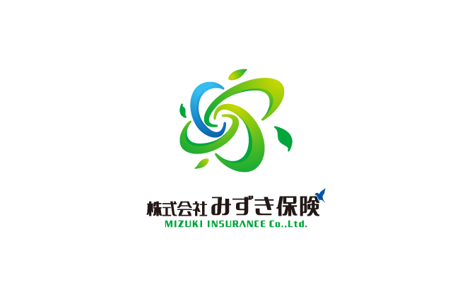 金融/保険/投資関連と親しみ/優しいと緑のロゴ