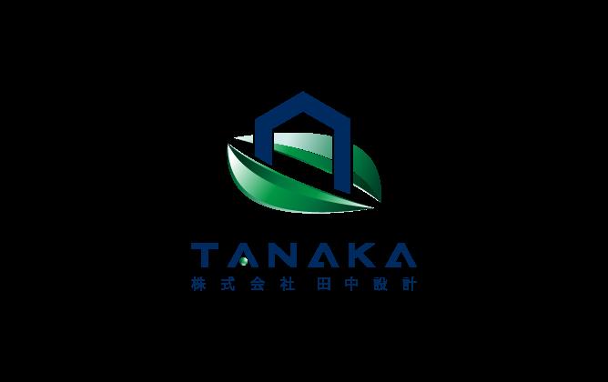 建築/建設/設備/設計/造園と近未来と緑のロゴ