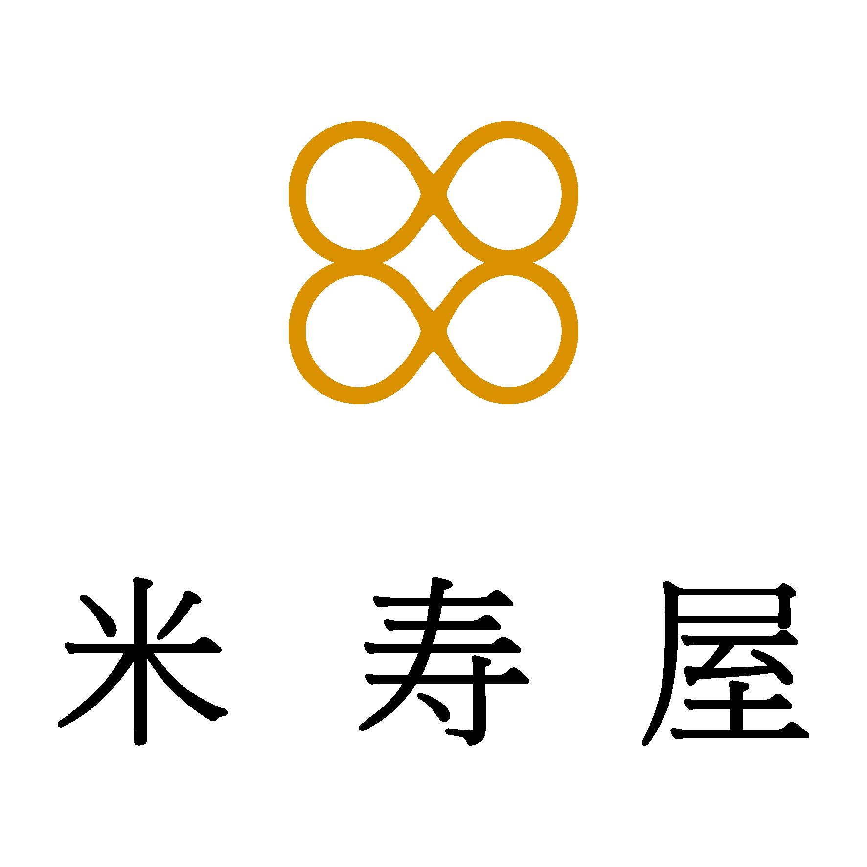 小売業とシンプルと茶のロゴ