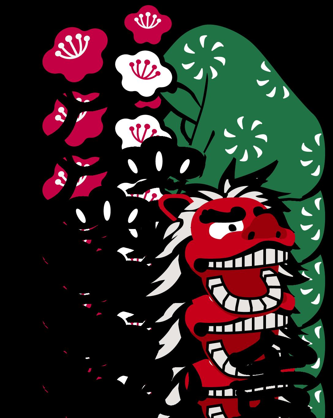 イベント業と親しみ/優しいとマルチカラーのロゴ