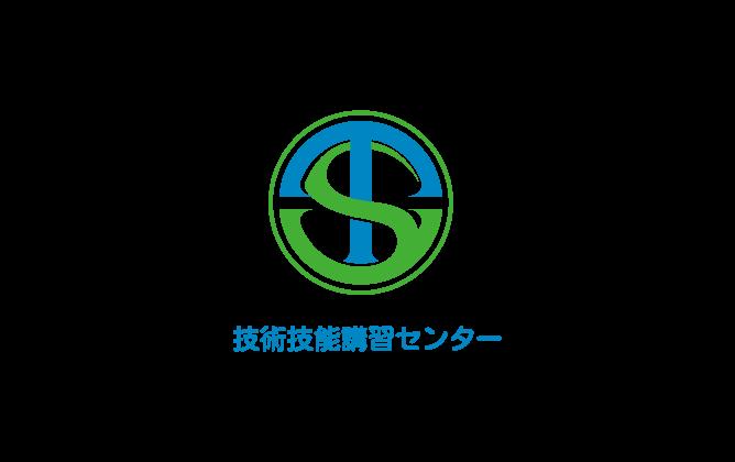行政/公的機関/各種団体と堅め/堅実と青のロゴ
