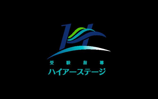 学校/教育/学習塾/レッスン系と綺麗/ 華やかと青のロゴ