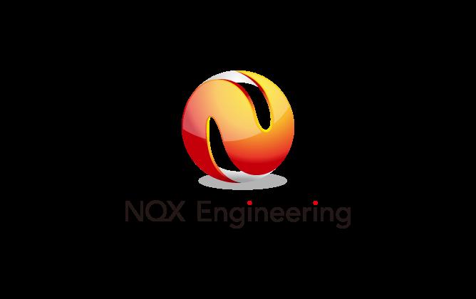 ソフトウェア・プログラム開発と近未来とオレンジのロゴ