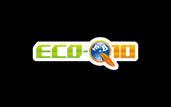自動車関連(販売/修理・整備)と立体的と緑のロゴ