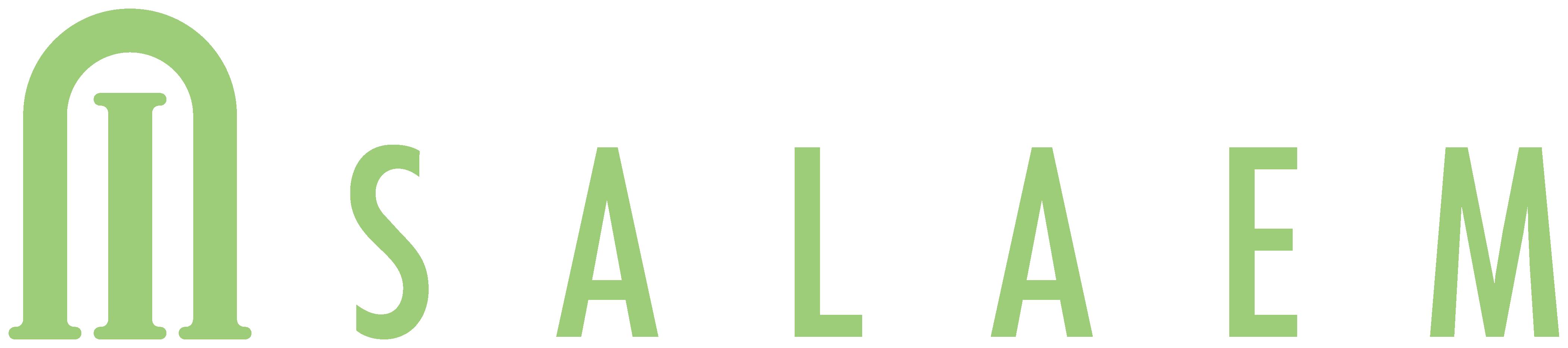 飲食業とシンプルと緑のロゴ
