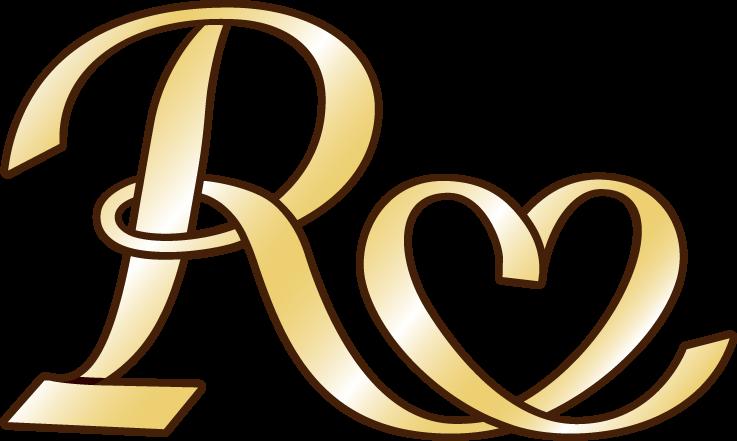 アパレル系とロゴタイプ(文字のみのデザイン)と金のロゴ