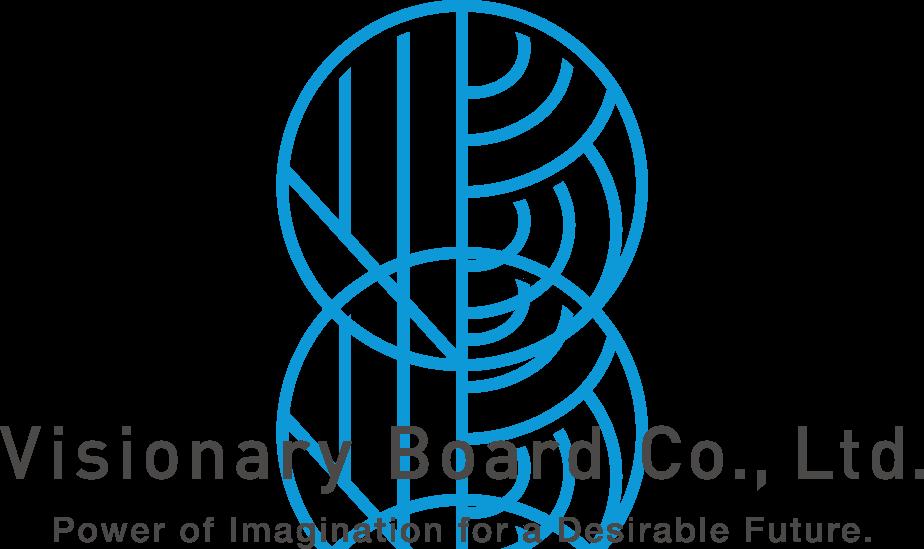 経営コンサルタントとシルエットと青のロゴ