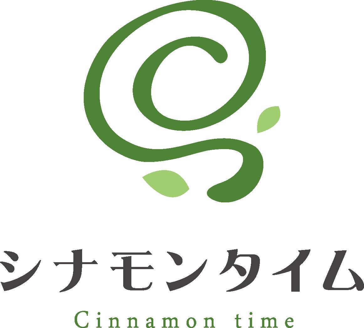 小売業と親しみ/優しいと緑のロゴ