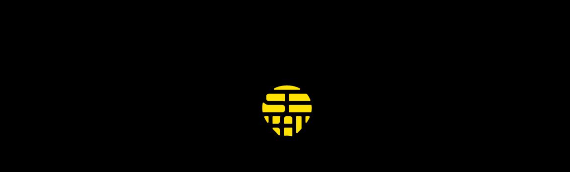マスコミ関連とロゴタイプ(文字のみのデザイン)と黒のロゴ