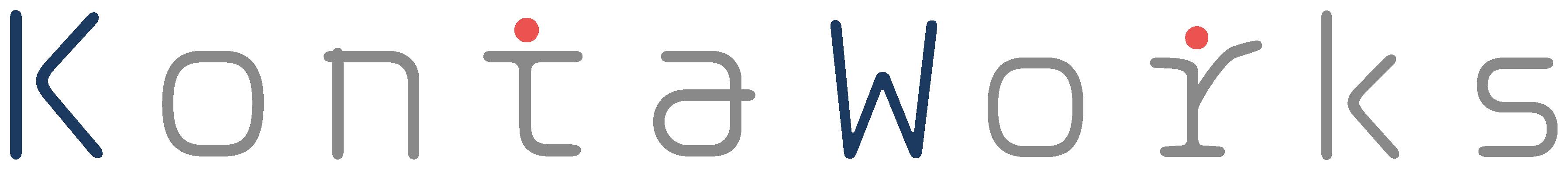商社/卸売業とロゴタイプ(文字のみのデザイン)と紺のロゴ
