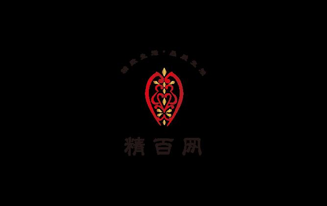 小売業と高級感/気品と赤のロゴ
