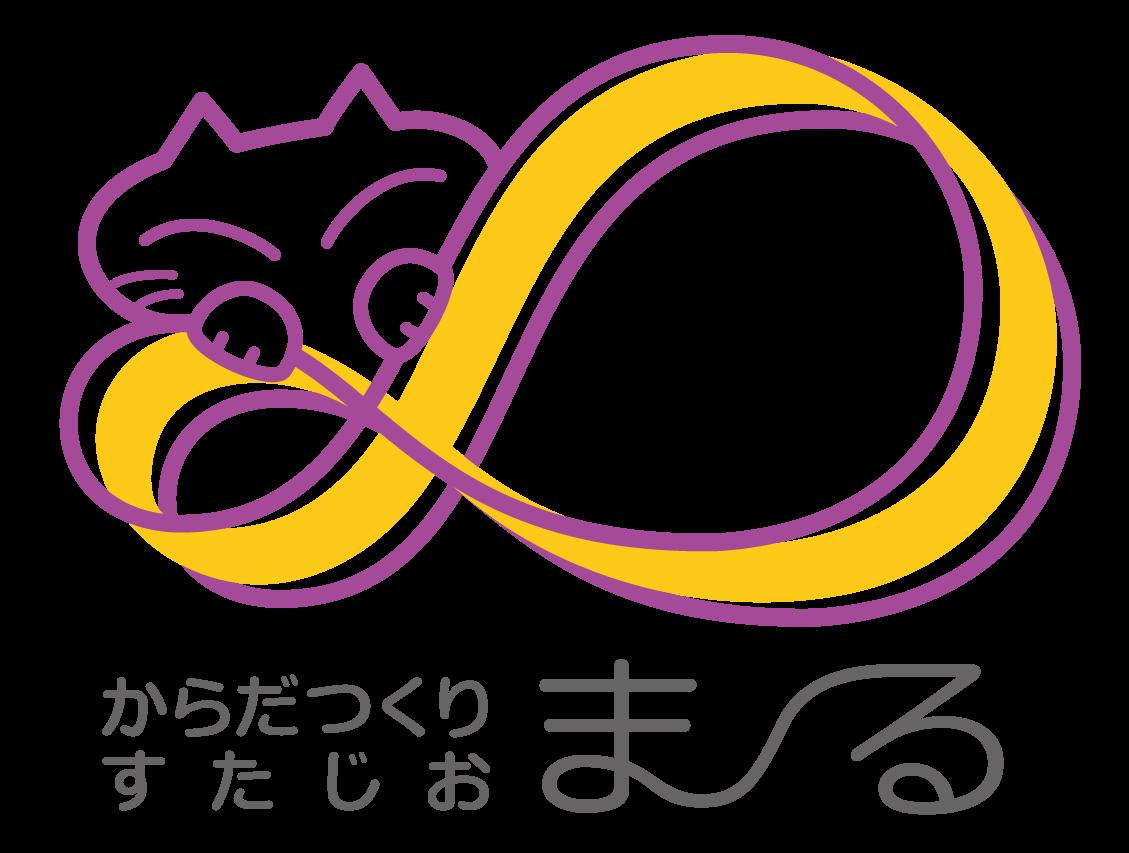 スポーツ系サービスと親しみ/優しいとオレンジのロゴ
