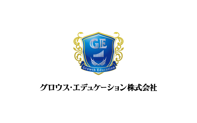 経営コンサルタントと高級感/気品と青のロゴ