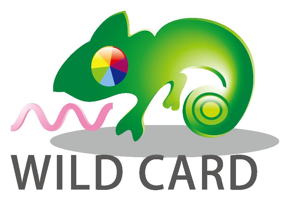 サービス業とイラストと緑のロゴ