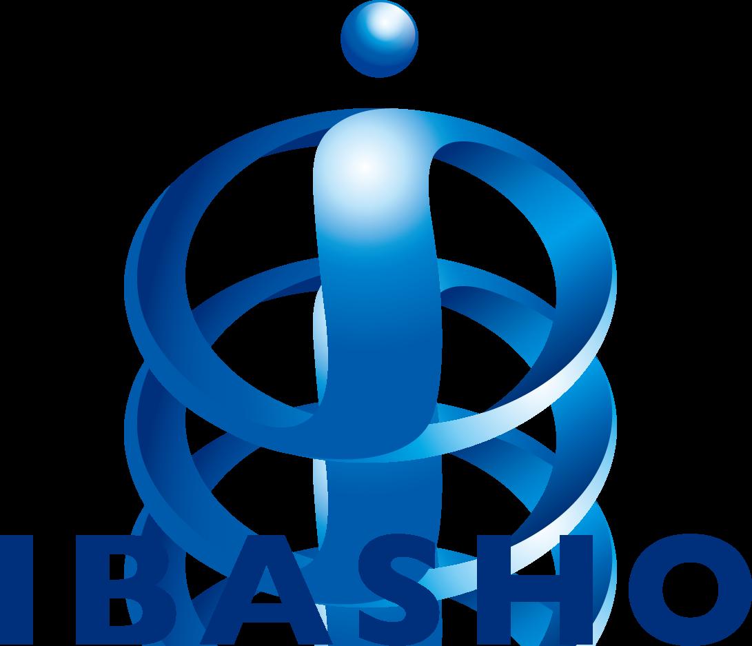 不動産業と立体的と青のロゴ