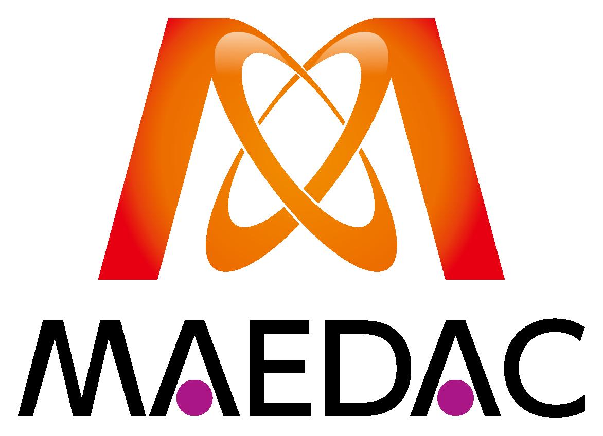 商社/卸売業と堅め/堅実と赤のロゴ
