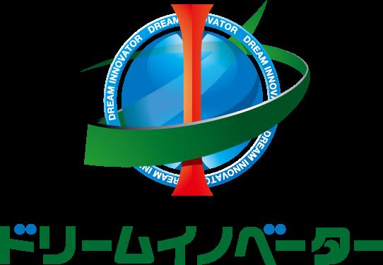 経営コンサルタントと近未来とマルチカラーのロゴ