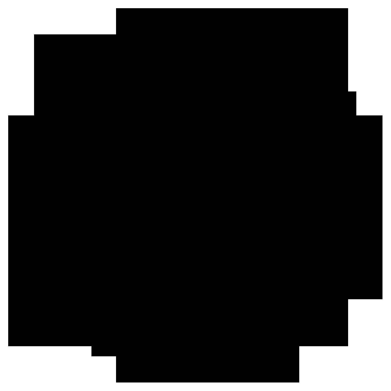 チーム/サークルと和風/筆タッチと黒のロゴ