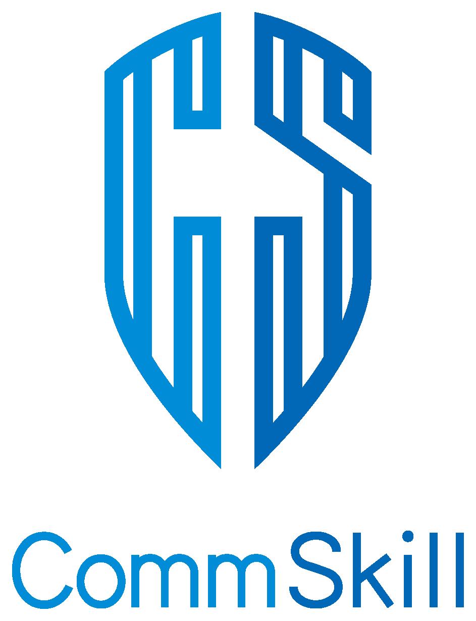 サービス業と堅め/堅実と青のロゴ