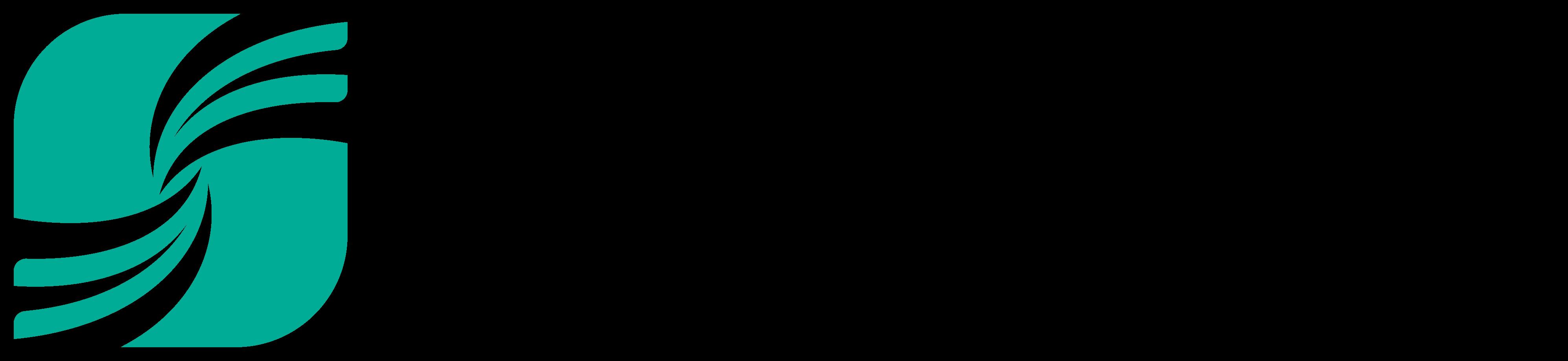 行政/公的機関/各種団体とシンプルと緑のロゴ