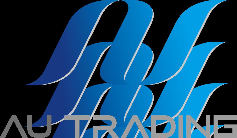 自動車関連(販売/修理・整備)と堅め/堅実と青のロゴ