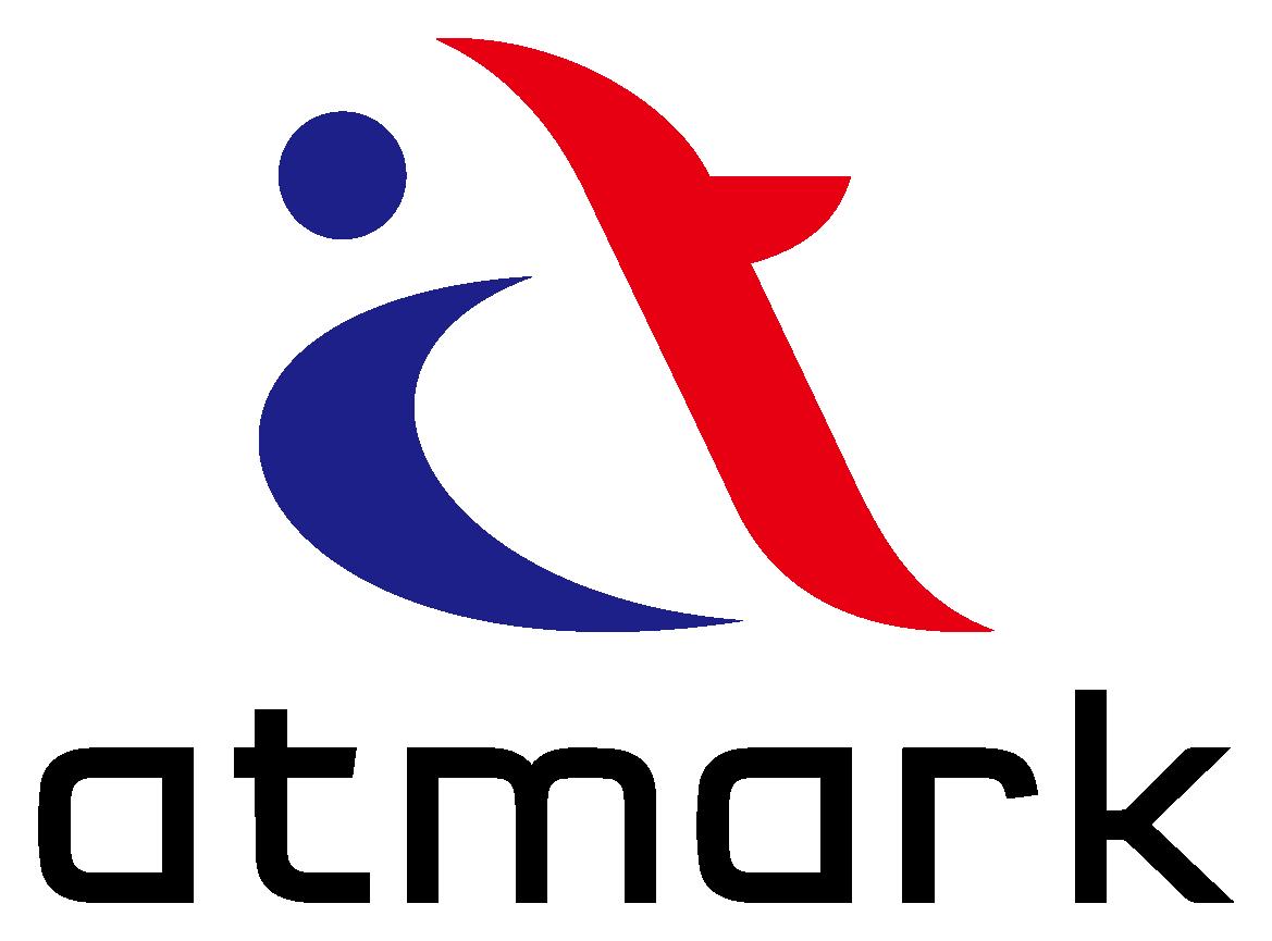 サービス業と堅め/堅実と赤のロゴ