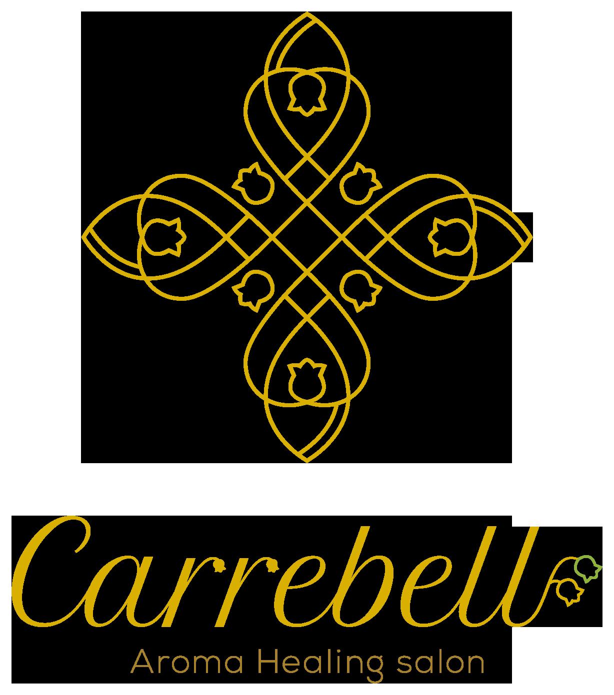 美容室/理髪店/美容系サロンと高級感/気品と黄のロゴ