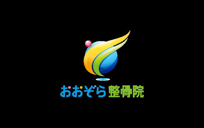 スポーツ系サービスと立体的と青のロゴ