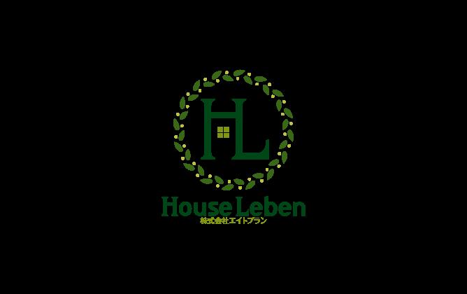 建築/建設/設備/設計/造園と綺麗/ 華やかと緑のロゴ
