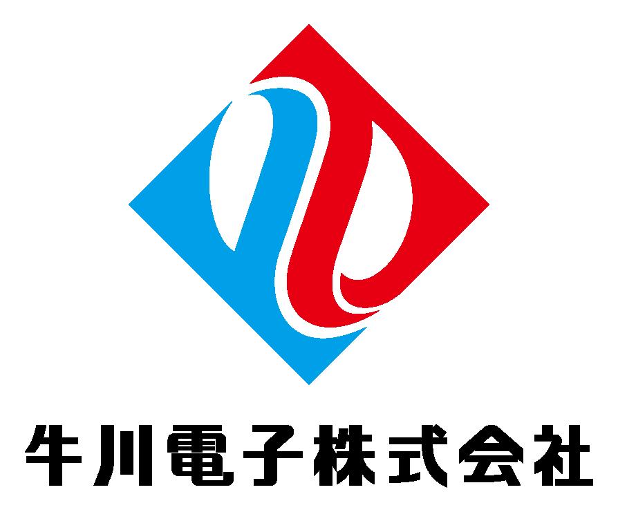 製造/メーカーと堅め/堅実と青のロゴ